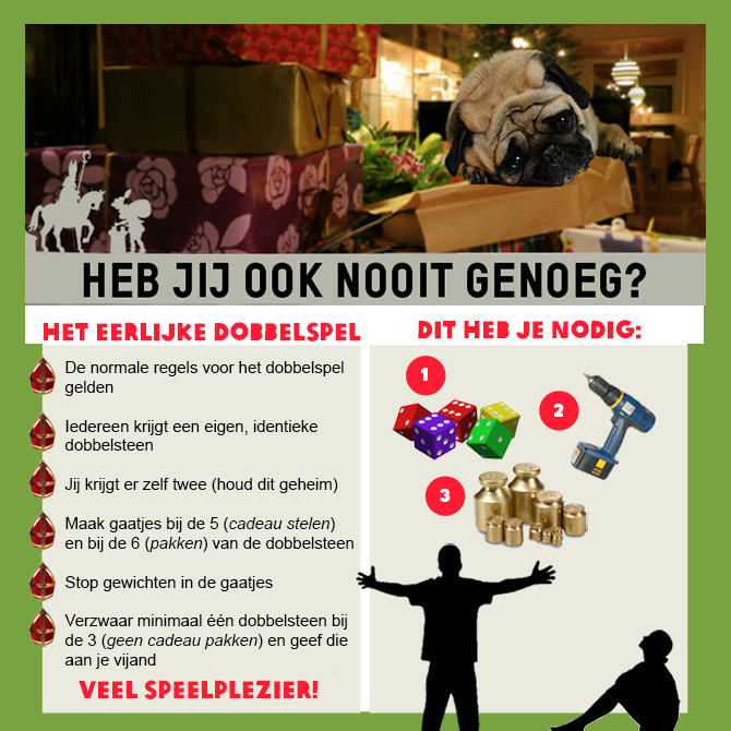 Sinterklaas surprise dobbelspel