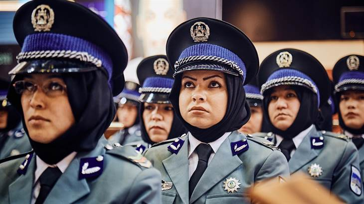 Stronger together for women in the Afghan police