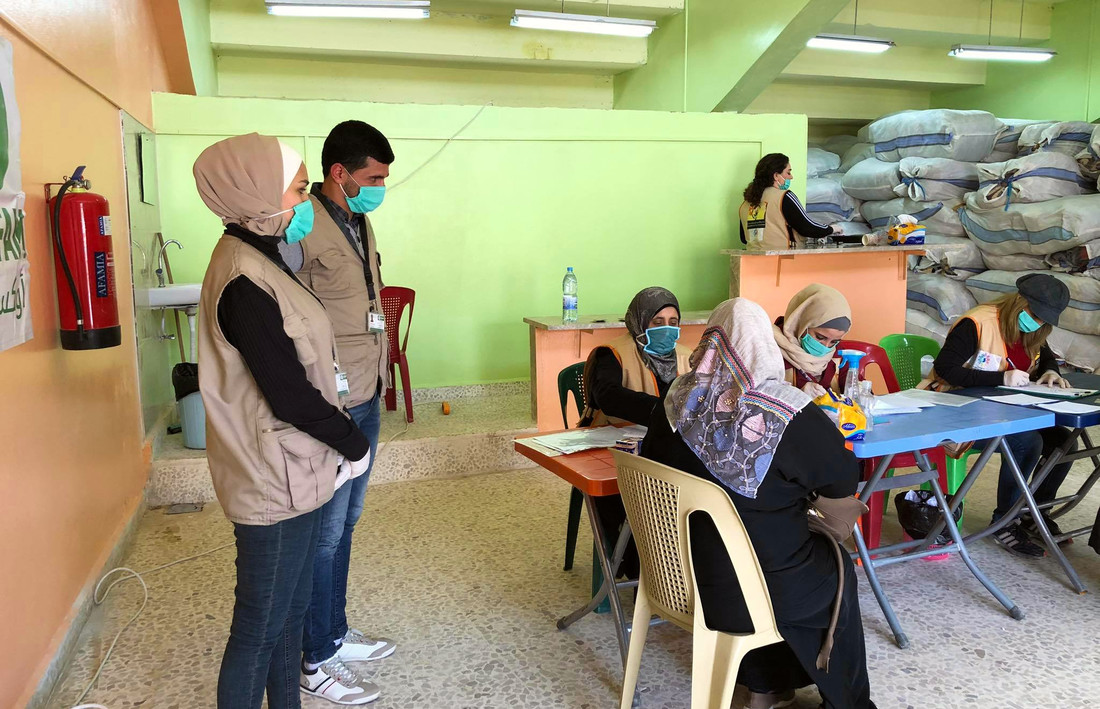 Distribution Of Hygiene Materials In Hama - Covid-19 response, Syria