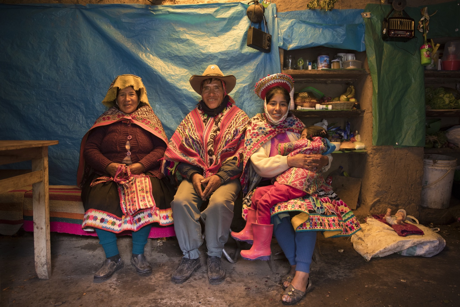 Oxfam Novib Seeds Peru in huis